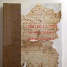 Libri: GALICIA: GUIA PARA O ESTUDO DA LIRICA PROFANA GALEGO-PORTUGUESA (EN GALLEGO). Lote 184203451