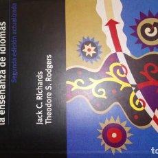 Libros: ENFOQUES Y MÉTODOS EN LA ENSEÑANZA DE IDIOMAS. RICHARD & RODGERS. Lote 189695683