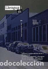 LLENGUA I ÚS. REVISTA DE POLÍTICA LINGÜÍSTICA. NÚMEROS 1-40 (Libros Nuevos - Humanidades - Filología)