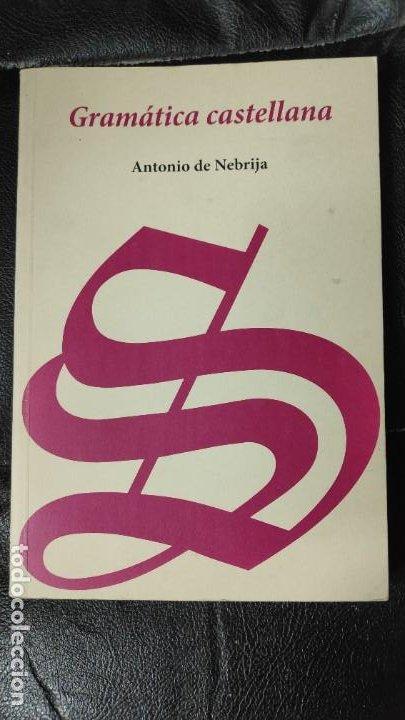 GRAMATICA CASTELLANA FACSIMIL ANTONIO DE NEBRIJA (Libros Nuevos - Humanidades - Filología)