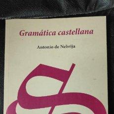 Libros: GRAMATICA CASTELLANA FACSIMIL ANTONIO DE NEBRIJA . Lote 192905215
