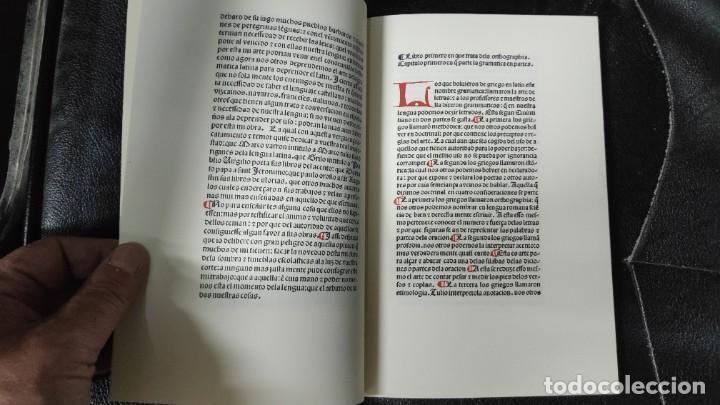Libros: GRAMATICA CASTELLANA FACSIMIL ANTONIO DE NEBRIJA - Foto 4 - 192905215