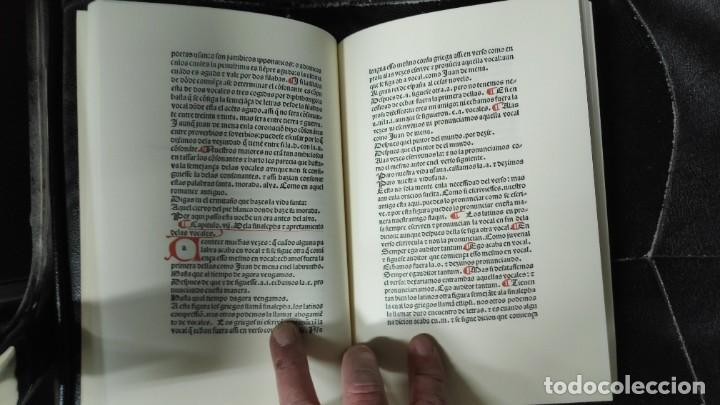 Libros: GRAMATICA CASTELLANA FACSIMIL ANTONIO DE NEBRIJA - Foto 6 - 192905215