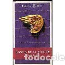 Libros: MARC PETIT - ELOGIO DE LA FICCIÓN. Lote 206962006
