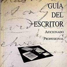 Libros: GUÍA DEL ESCRITOR - FUENTETAJA. Lote 207608170