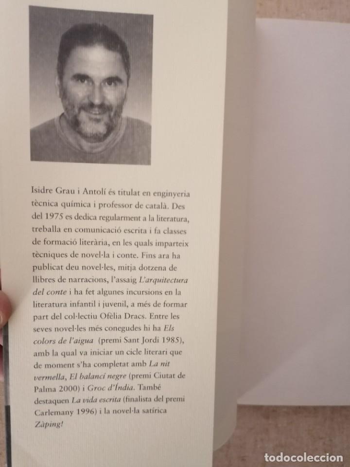 Libros: LA MALETA DE LESCRIPTOR - ISIDRE GRAU - ROSA DELS VENTS - 2005 - Foto 2 - 213203001