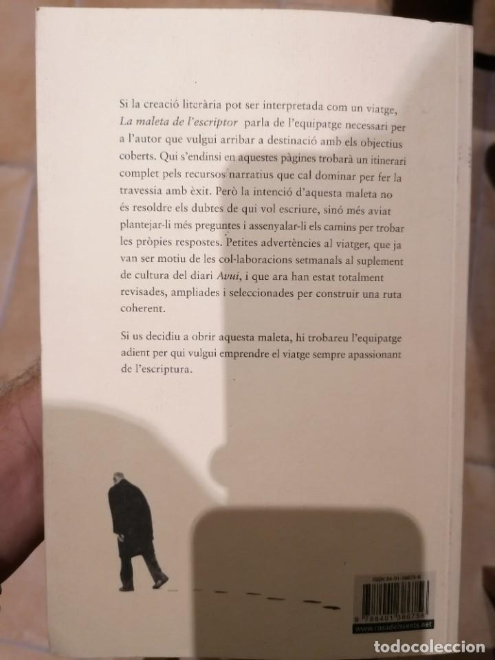 Libros: LA MALETA DE LESCRIPTOR - ISIDRE GRAU - ROSA DELS VENTS - 2005 - Foto 3 - 213203001