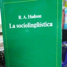 Libros: LA SOCIOLINGUISTICA-R. A.HUDSON-ANAGRAMA BIBLIOTECA LINGÜÍSTICA-1982,. Lote 220953941