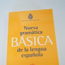 Livros: NUEVA GRAMÁTICA DE LA LENGUA ESPAÑOLA. RAE. Lote 226092312