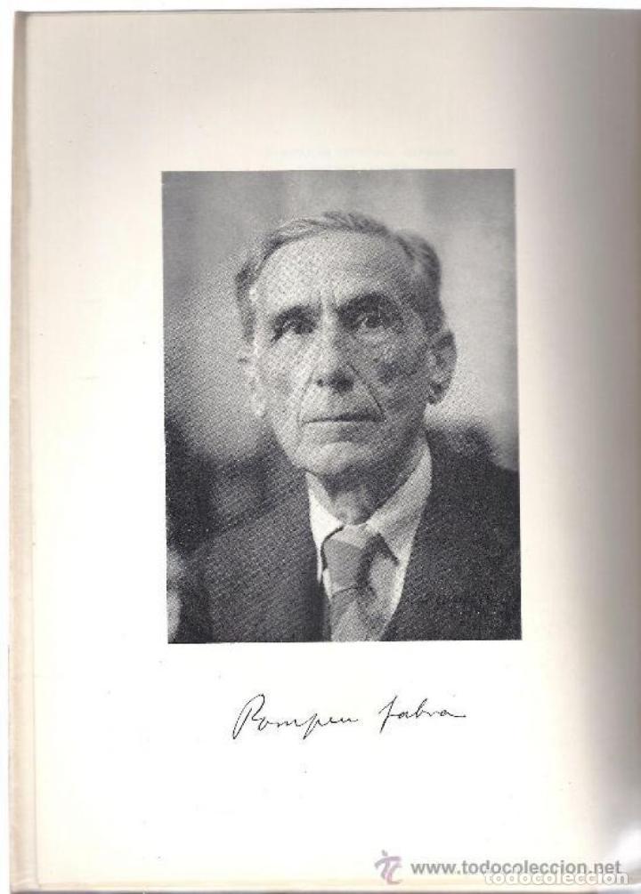 Libros: ESTUDIS DE LINGÜÍSTICA I DE FILOLOGIA CATALANES. R. ARAMON I SERRA. 2 T. 1968. - Foto 4 - 231311885