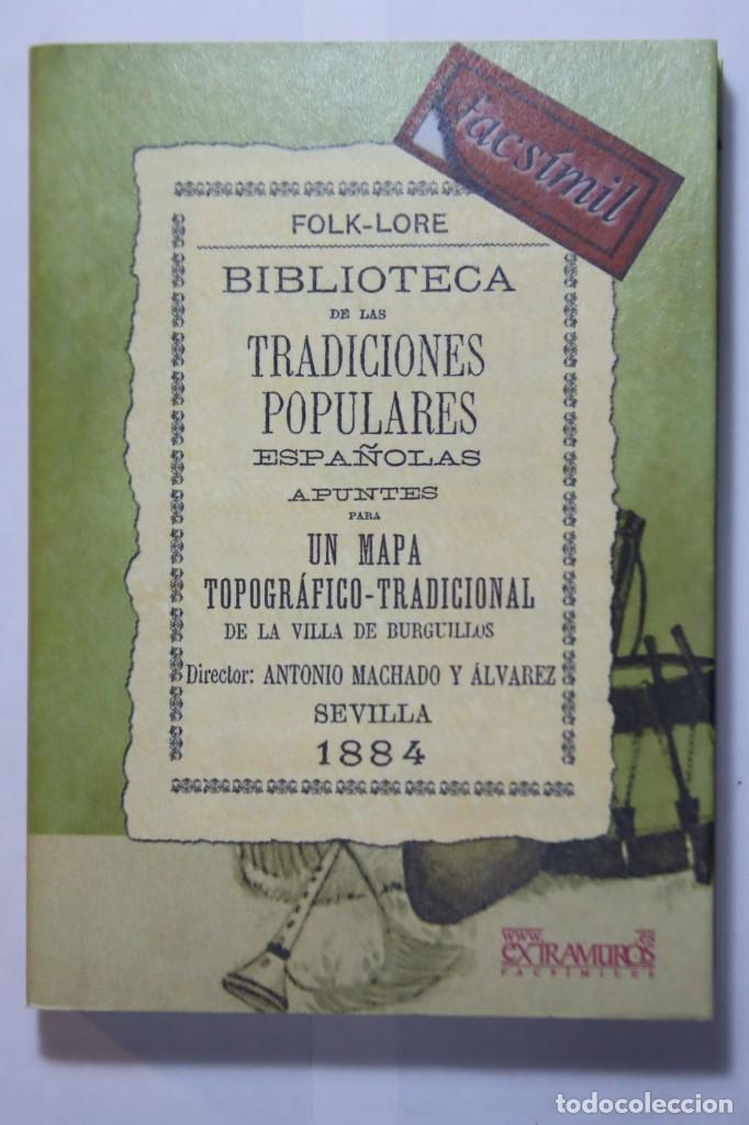 Libros: 11 libros relativos al FOLCLORE ESPAÑOL. Tradiciones españolas. Antonio Machado y Álvarez, Demófilo - Foto 13 - 238872510