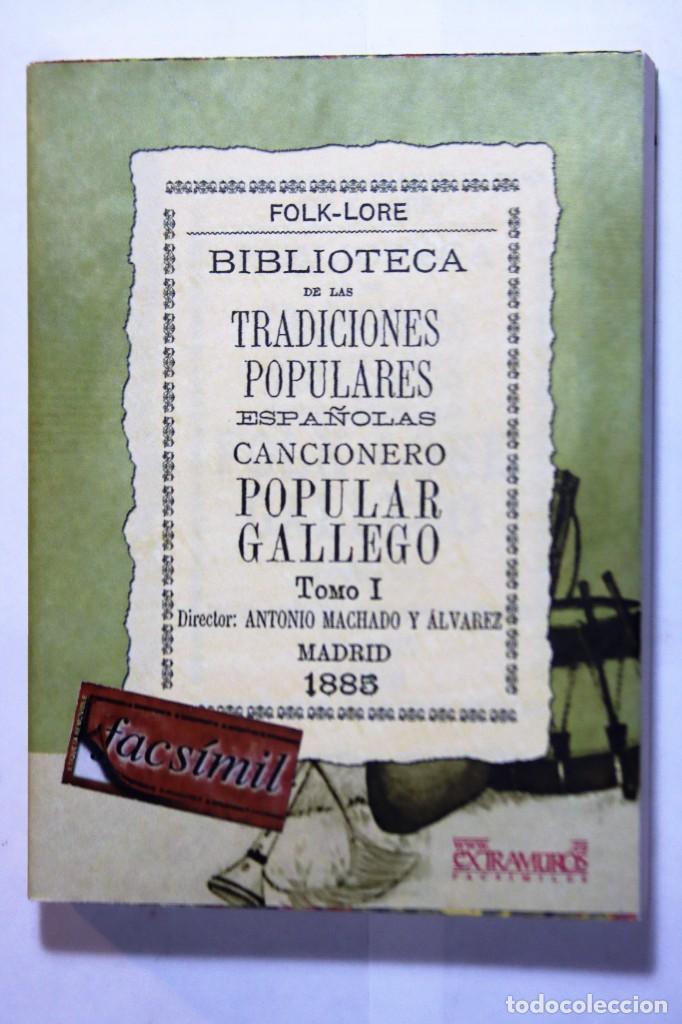 Libros: 11 libros relativos al FOLCLORE ESPAÑOL. Tradiciones españolas. Antonio Machado y Álvarez, Demófilo - Foto 15 - 238872510