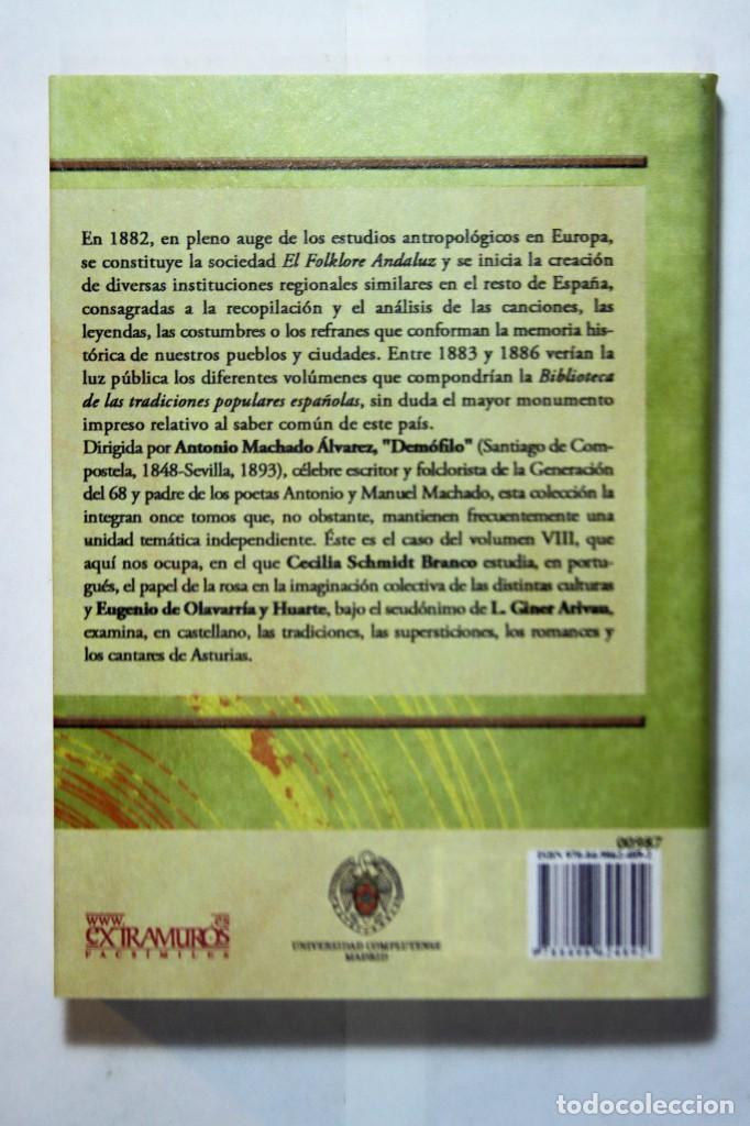 Libros: 11 libros relativos al FOLCLORE ESPAÑOL. Tradiciones españolas. Antonio Machado y Álvarez, Demófilo - Foto 18 - 238872510