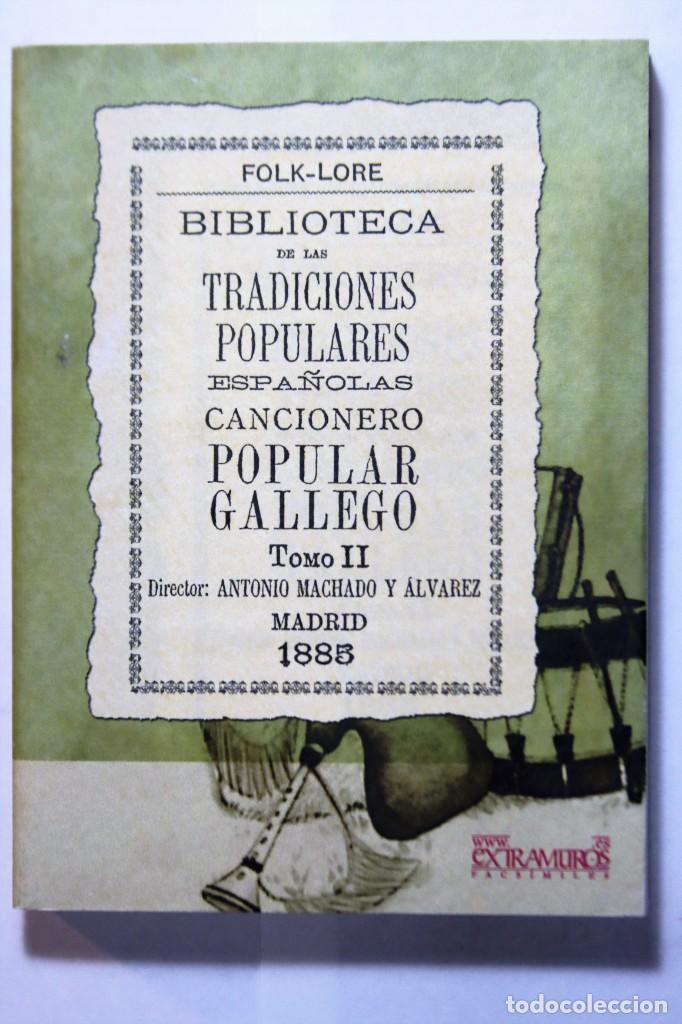 Libros: 11 libros relativos al FOLCLORE ESPAÑOL. Tradiciones españolas. Antonio Machado y Álvarez, Demófilo - Foto 19 - 238872510