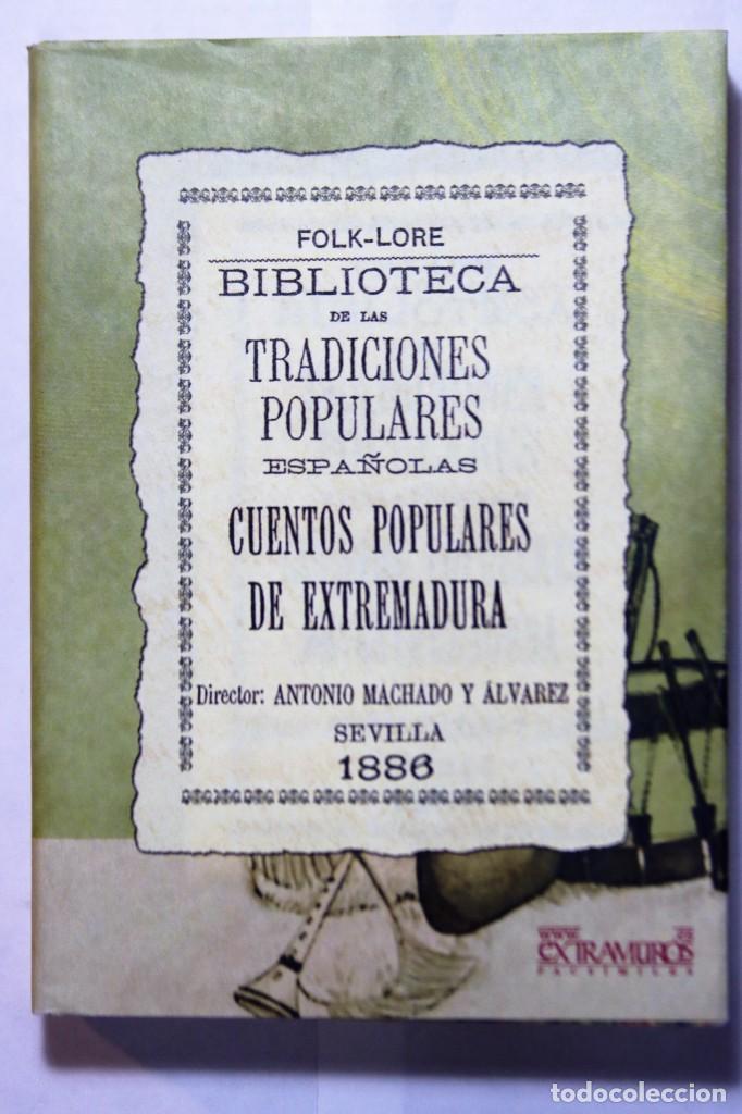 Libros: 11 libros relativos al FOLCLORE ESPAÑOL. Tradiciones españolas. Antonio Machado y Álvarez, Demófilo - Foto 21 - 238872510