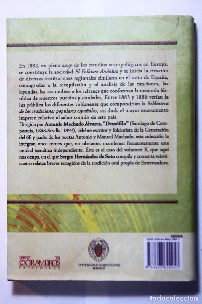 Libros: 11 libros relativos al FOLCLORE ESPAÑOL. Tradiciones españolas. Antonio Machado y Álvarez, Demófilo - Foto 22 - 238872510