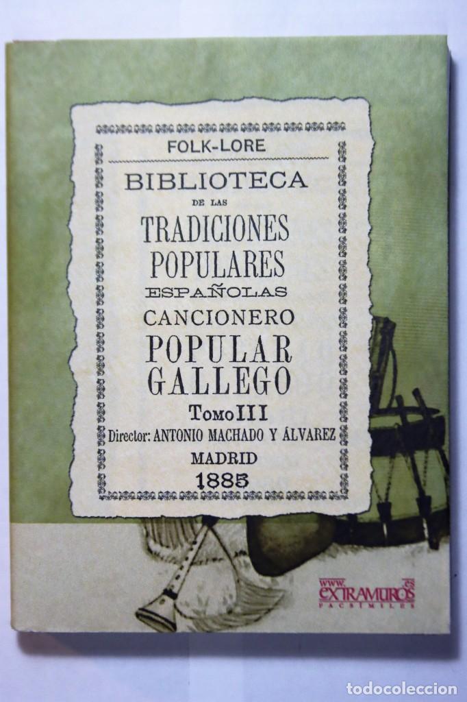 Libros: 11 libros relativos al FOLCLORE ESPAÑOL. Tradiciones españolas. Antonio Machado y Álvarez, Demófilo - Foto 23 - 238872510