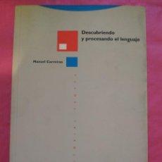 Libros: DESCUBRIENDO Y PROCESANDO EL LENGUAJE. Lote 240701095