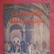 Libros: LA FILOSOFÍA DEL LENGUAJE. Lote 240703185
