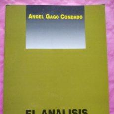 Libros: EL ANÁLISIS SINTÁCTICO (MÉTODO PRÁCTICO). Lote 241872680