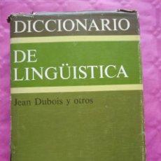 Libros: DICCIONARIO DE LINGÜÍSTICA. Lote 241874665