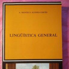 Libros: LINGÜÍSTICA GENERAL. Lote 244400850
