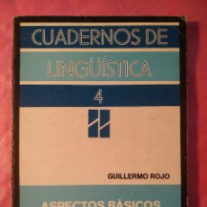 Libros: ASPECTOS BÁSICOS DE SINTAXIS FUNCIONAL. Lote 244406970