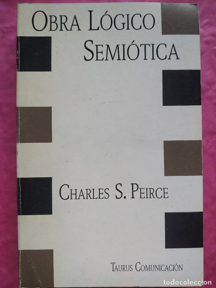 OBRA LÓGIO SEMIÓTICA (Libros Nuevos - Humanidades - Filología)