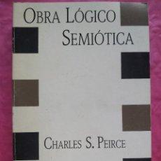 Libros: OBRA LÓGIO SEMIÓTICA. Lote 253300655