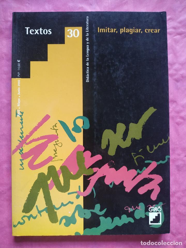 IMITAR, PLAGIAR, CREAR (Libros Nuevos - Humanidades - Filología)