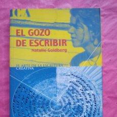 Libros: EL GOZO DE ESCRIBIR. Lote 253309525