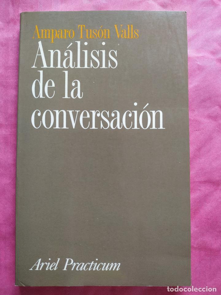 ANÁLISIS DE LA CONVERSACIÓN (Libros Nuevos - Humanidades - Filología)