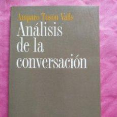 Libros: ANÁLISIS DE LA CONVERSACIÓN. Lote 253296695