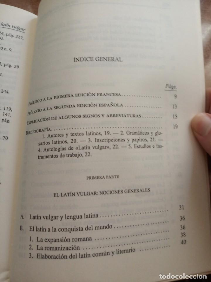 Libros: Introducción al latín vulgar. V. Vaanaanen - Foto 2 - 260516615