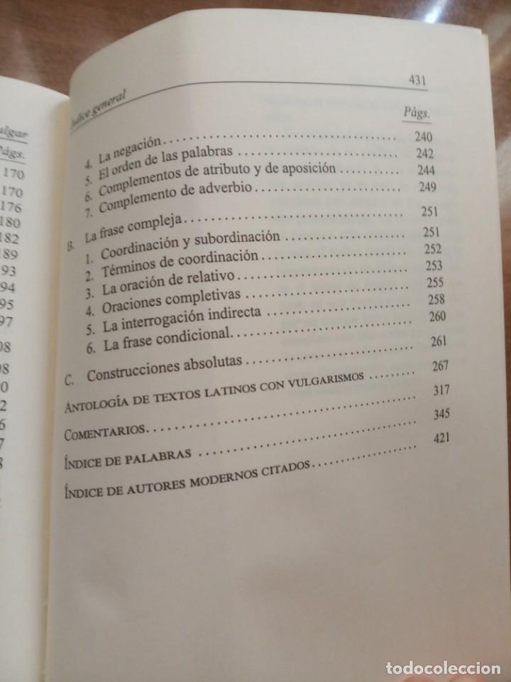 Libros: Introducción al latín vulgar. V. Vaanaanen - Foto 3 - 260516615