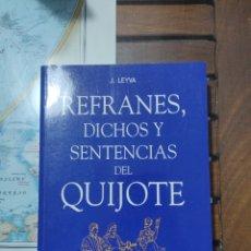 Libros: REFRANES, DICHOS Y SENTENCIAS DEL QUIJOTE.. Lote 277065268