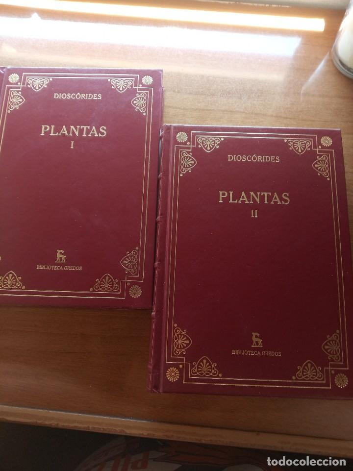 DIOSCORIDES. PLANTAS. EDITORIAL GREDOS (Libros Nuevos - Humanidades - Filología)
