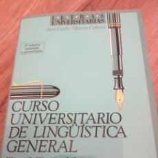 Libros: CURSO UNIVERSITARIO DE LINGÜÍSTICA GENERAL I. Lote 290587803