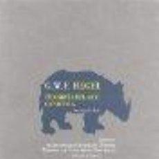 Libros: FILOSOFIA DEL ARTE O ESTETICA (VERANO DE 1826) GEORG WILHELM FRIEDRICH HEGEL GASTOS DE ENVIO GRATIS. Lote 48562147