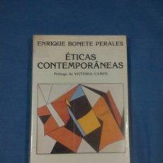Libros: ETICAS CONTEMPORÁNEAS. Lote 57334852