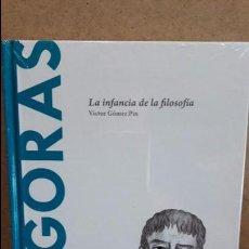 Libros: PITAGORAS. LA INFANCIA DE LA FILOSOFÍA. VÍCTOR GÓMEZ PIN / DESCUBRIR LA FILOSOFÍA / 12 / NUEVO.. Lote 101472491