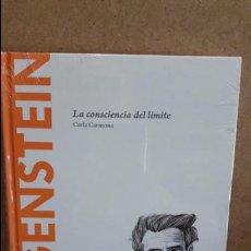 Libros: WITTGENSTEIN. LA CONSCIENCIA DEL LÍMITE. CARLA CARMONA / DESCUBRIR LA FILOSOFÍA / 21 - PRECINTADO. Lote 153900754