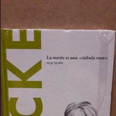 Libros: LOCKE. LA MENTE ES UNA TABULA RASA. SERGI AGUILAR / DESCUBRIR LA FILOSOFÍA / 10 / PRECINTADO. Lote 153900721