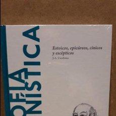 Libros: FILOSOFÍA HELENÍSTICA.ESTOICOS,EPICÚREOS... / J.A.CARDONA / DESCUBRIR LA FILOSOFÍA / 22 - NUEVO. Lote 89504990