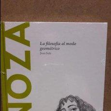 Libros: SPINOZA. LA FILOSOFÍA AL MODO GEOMÉTRICO. JOAN SOLÉ / DESCUBRIR LA FILOSOFÍA / 20 / NUEVO.. Lote 95623359
