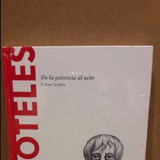 Libros: ARISTÓTELES. DE LA POTENCIA AL ACTO. P. RUIZ TRUJILLO / DESCUBRIR LA FILOSOFÍA / 04 - NUEVO.. Lote 93760045