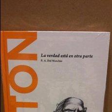 Libros: PLATÓN. LA VERDAD ESTÁ EN OTRA PARTE. E.A. DAL MASCHIO / DESCUBRIR LA FILOSOFÍA / 01 - PRECINTADO. Lote 175956708