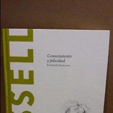 Libros: RUSSELL. CONOCIMIENTO Y FELICIDAD / DECUBRIR LA FILOSOFÍA/35/ COMO NUEVO.( GOLPE ). Lote 94218450