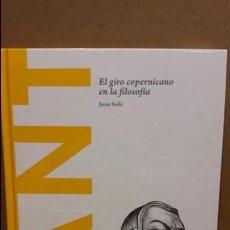 Libros: KANT. EL GIRO COPERNICANO...JOAN SOLÉ / DESCUBRIR LA FILOSOFÍA/03/ NUEVO. Lote 94220495