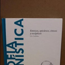 Libros: FILOSOFÍA HELENÍSTICA. ESTOICOS, EPICÚREOS...DESCUBRIR LA FILOSOFÍA /22/ NUEVO. Lote 94221675